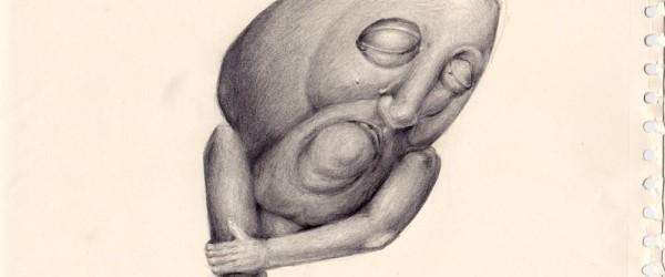 Darsein-Zeichnung-Bleistift
